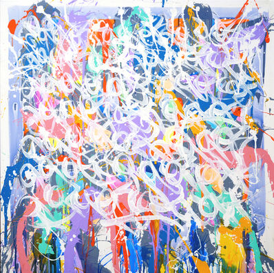 JonOne, 'Let Go', 2012