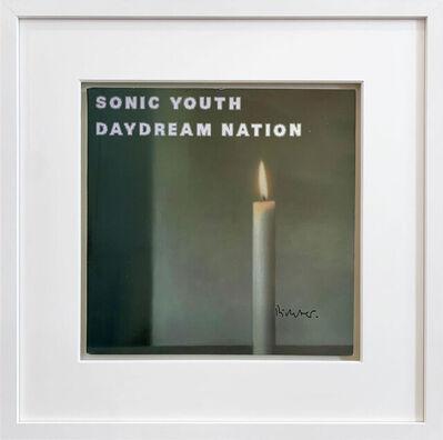 Gerhard Richter, 'Kerze I - vinyl record Cover ', 1988