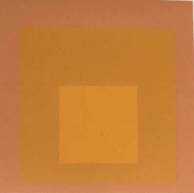 Josef Albers, 'Homage to the Square (Orange/peach) #2176', 1966