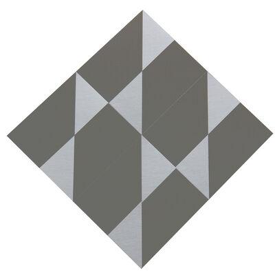 Getulio Alviani, 'Superficie a triangoli satinati', 1982