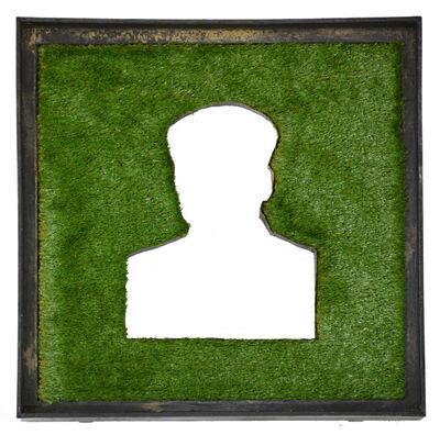Zhang Hongtu, 'Material Mao Series - Grass Mao', 1992