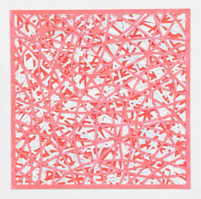 Leigh Suggs, 'Reticulating Lines (Salmon)', 2017