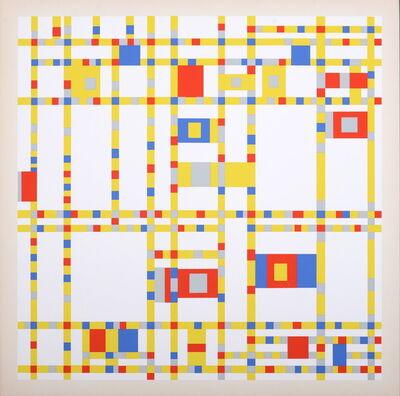 Piet Mondrian, 'Broadway Boogie Woogie', 1967