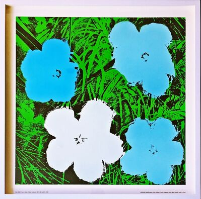 Andy Warhol, 'Flowers (Blue)', 1970