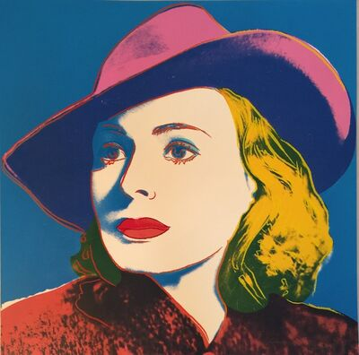 Andy Warhol, 'Ingrid Bergman With Hat F&S II.315', 1983