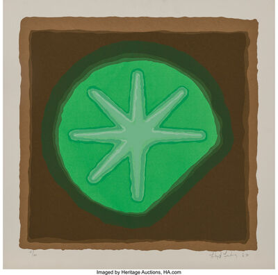 Lloyd Fertig, 'Untitled - Sun Dollar', 1970