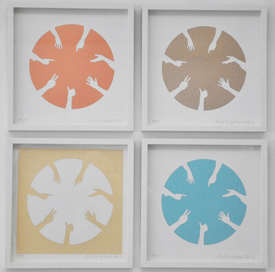 Nicola Green, 'Circle of Hands Quad II ', 2013