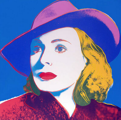 Andy Warhol, 'Ingrid Bergman with Hat', 1983