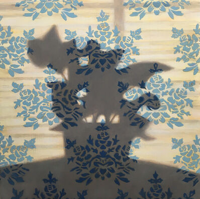 Michael Banning, 'House Plant Shadow on Wallpaper', 2020