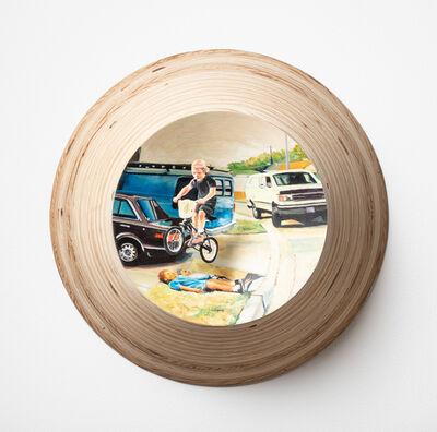 Andrew Krieger, 'Plywood Bike Jump', 2019