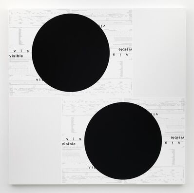Michael Riedel, 'UNTITLED (VISIBLE)', 2014