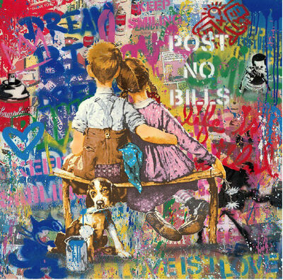 Mr. Brainwash, 'Work Well Together', 2020