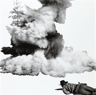 John Baldessari, 'Smoke, Tree, Shadow, and Person', 2011
