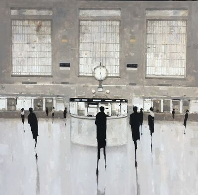 Geoffrey Johnson, 'Study for Clock, Grand Central', 2018