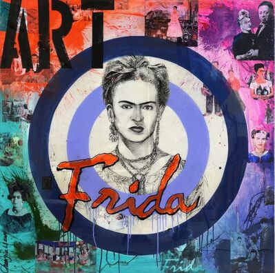 Chengju Li, 'Famous People Series (Frida)', 2014