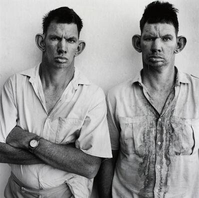 Roger Ballen, 'Dresie and Casie, twins, Western Transvaal', 1993