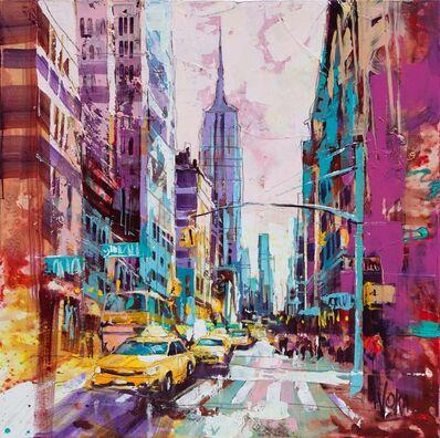 Voka, 'NYC, 100 x 100 cm', 2019