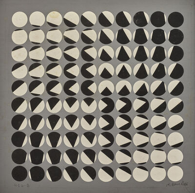 Horacio Garcia-Rossi, 'Composition cinétique', 1959