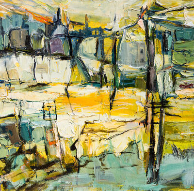 Tuëma Pattie, 'Tower Bridge Evening Light', 1963