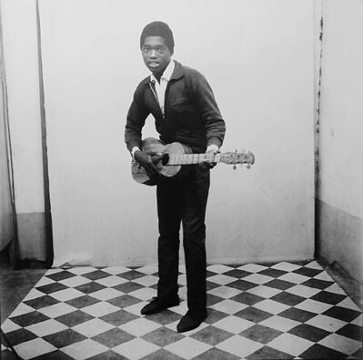 Malick Sidibé, 'A Musician with Guitar', 1963
