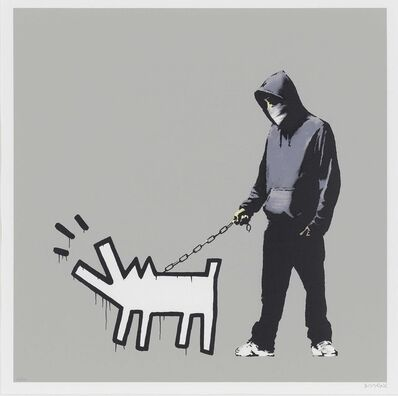 Banksy, 'Banksy - Choose Your Weapon (Que Jumper Grey) - Signed', 2010