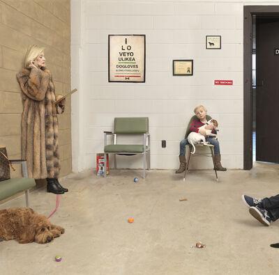 Julie Blackmon, 'Waiting Room', 2016