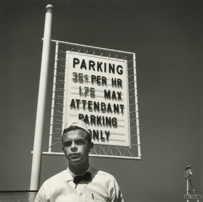Arthur Tress, 'Parking Attendant, Fisherman's Wharf, San Francisco', 1974