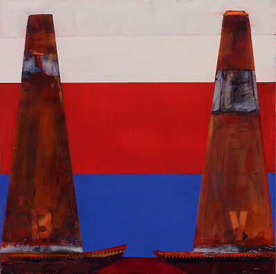 Kim Frohsin, 'Peace Cones: Debate '68 / Cautionary Tales ', 2015