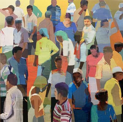 Suhas Bhujbal, 'Market #15', 2019