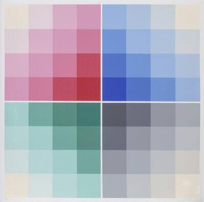 Herbert Bayer, 'Four Scales', 1968