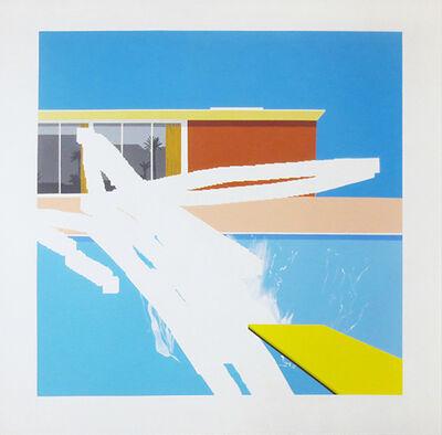 Michael Weisskoeppel, 'Erasing a Bigger Splash - Homage to David Hockney', 2014