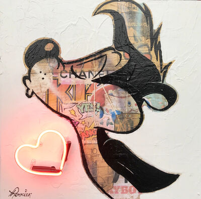 Rock Therrien, 'Mon Petit Coeur', 2020