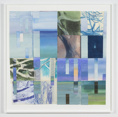 Fran Siegel, '18 Days: Meeting Sky/Sea/Earth 03', 2018