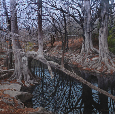 Garrett Middaugh, 'Onion Creek on New Year's Day'