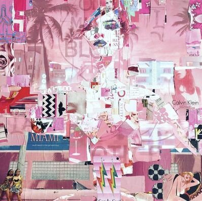 Derek Gores, 'Full Volume, South Beach (pink)', 2017