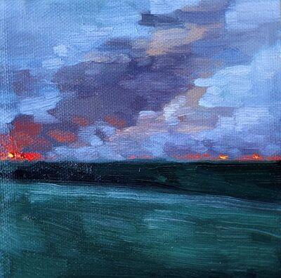 Daliah Ammar, 'Burning 3', 2019