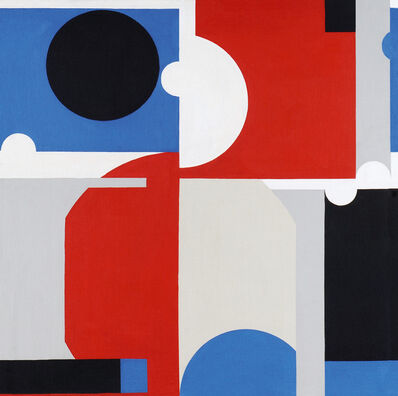 Jorge Riveros, 'Círculo Negro', 1970