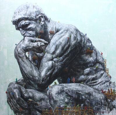 Vani Hidayatur Rahman, 'Unity #15 - Ode to Auguste Rodin', 2017