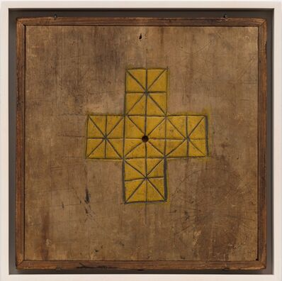 Unknown Artist, 'Solitaire Game Board', Late 19th century