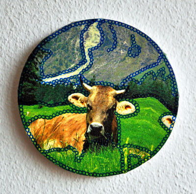 Sabine Kürzel, 'Cow II | Kuh II', 2015
