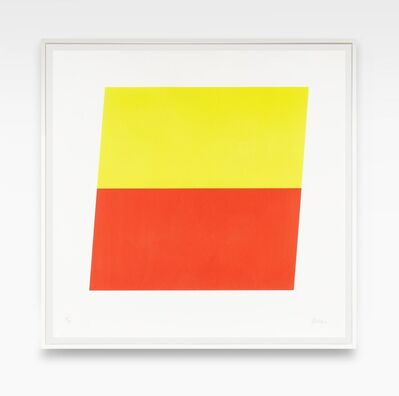 Ellsworth Kelly, 'Yellow Red-Orange', 1970