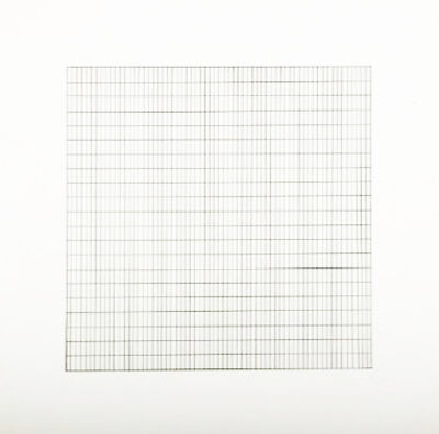 Agnes Martin, 'Untitled #8 (from Stedelijk Museum), 1990', 1990