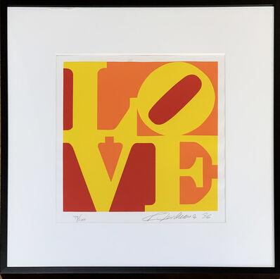 Robert Indiana, 'LOVE - Yellow, Orange,  Red, 1996', 1996