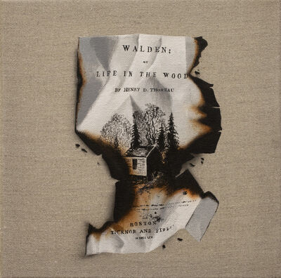 Paul Béliveau, 'In Memoriam: Thoreau', 2019