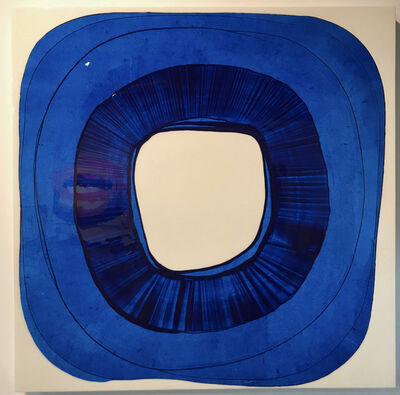 Ted Collier, 'Circle Series 4, Ultra Blue', 2019