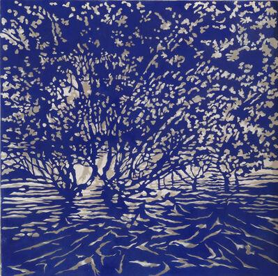 Andrew Tomkins, 'Blue Cut I', 2018