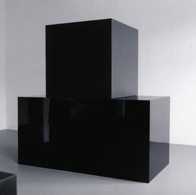 Sol LeWitt, 'Black Cubes', 2000