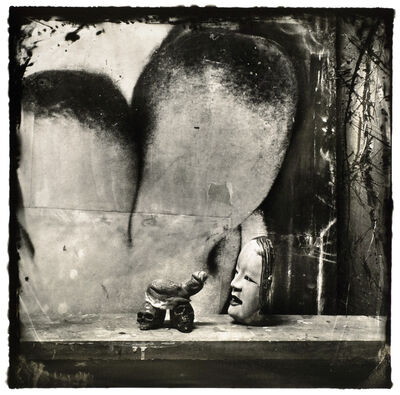 Joel-Peter Witkin, 'Mask and Severed Genitalia as Netsuke, New Mexico', 1987