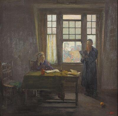 Alfred Wolmark, 'Sabbath Afternoon', ca. 1909-1910