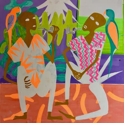 Frantisek Florian, 'African figures 18', 2018
